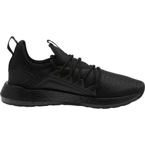 NRGY Neko Knit Women's Running Shoes, PmaBlack-Asphalt-MtllicBrnze, large