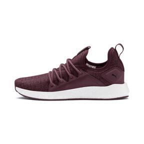 Thumbnail 1 of NRGY Neko Knit Women's Running Shoes, Vineyard Wine-Puma Black, medium