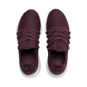 Thumbnail 7 of NRGY Neko Knit Women's Running Shoes, Vineyard Wine-Puma Black, medium