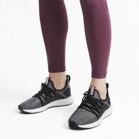Thumbnail 2 of NRGY Neko Knit Women's Running Shoes, Puma Black-Bridal Rose, medium
