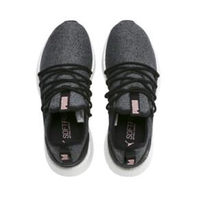 Thumbnail 7 of NRGY Neko Knit Women's Running Shoes, Puma Black-Bridal Rose, medium