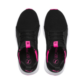 Thumbnail 6 of Enzo Weave Women's Sneakers, Puma Black-SHOCKING PINK, medium