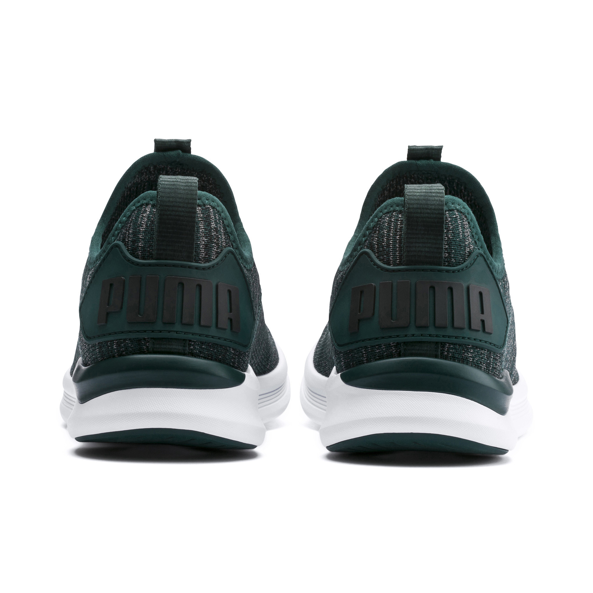 Image Puma IGNITE Flash evoKNIT Kids' PreSchool Running Shoes #3