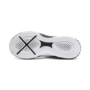 Thumbnail 3 of Defy Girls' Trainers, White-Black-Aquifer, medium