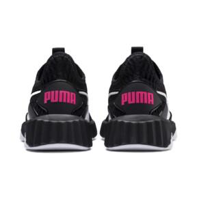 Thumbnail 3 of Defy Girls' Trainers, Puma Black-Puma White, medium