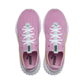 Thumbnail 6 of Defy Girls' Trainers, Pale Pink-White-Fair Aqua, medium