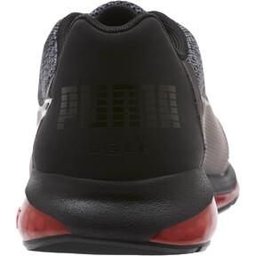 Thumbnail 3 of CELL Ultimate Knit Men's Training Shoes, Pma Blk-QUIET SHDE-Rbbon Red, medium