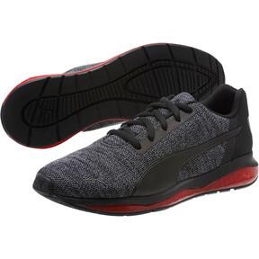 Thumbnail 2 of CELL Ultimate Knit Men's Training Shoes, Pma Blk-QUIET SHDE-Rbbon Red, medium