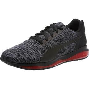 Thumbnail 1 of CELL Ultimate Knit Men's Training Shoes, Pma Blk-QUIET SHDE-Rbbon Red, medium