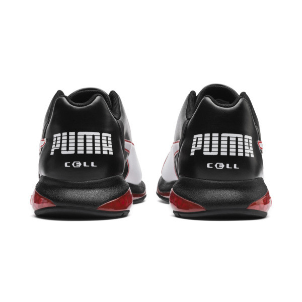 Cell Ultimate SL Men's Running Shoes, Pma Blk-Pma Wht-Hgh Rsk Rd, large