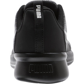 Thumbnail 3 of Tishatsu Runner Knit Little Kids' Shoes, Puma Black-Puma White, medium
