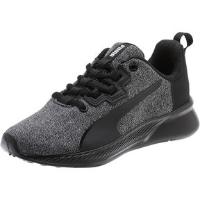 Thumbnail 1 of Tishatsu Runner Knit Little Kids' Shoes, Puma Black-Puma White, medium