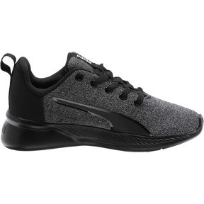 Thumbnail 4 of Tishatsu Runner Knit Little Kids' Shoes, Puma Black-Puma White, medium