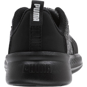 Thumbnail 3 of Tishatsu Runner Knit Toddler Shoes, Puma Black-Puma White, medium