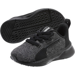 Thumbnail 2 of Tishatsu Runner Knit Toddler Shoes, Puma Black-Puma White, medium