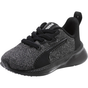Thumbnail 1 of Tishatsu Runner Knit Toddler Shoes, Puma Black-Puma White, medium