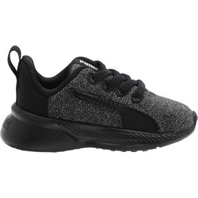 Thumbnail 4 of Tishatsu Runner Knit Toddler Shoes, Puma Black-Puma White, medium