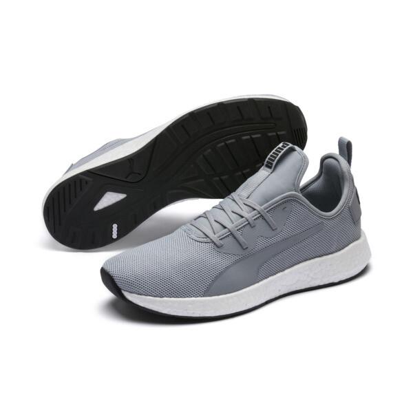 NRGY Neko Men's Running Shoes, Quarry-Puma White, large