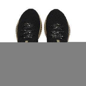 Thumbnail 6 of Defy Sparkle Wn's, Puma Black-Puma Team Gold, medium