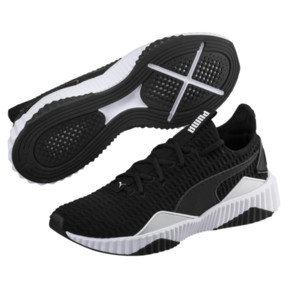 Thumbnail 2 of Defy Men's Sneakers, Puma Black-Puma White, medium
