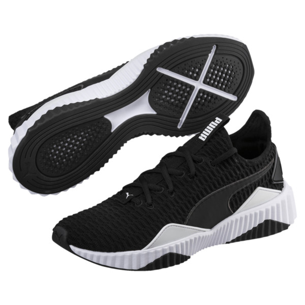 Defy Men's Sneakers, Puma Black-Puma White, large