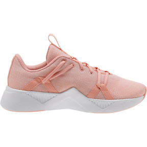 Thumbnail 3 of Incite Knit Women's Training Shoes, Peach Bud-Puma White, medium