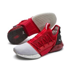 Thumbnail 2 of HYBRID Rocket Runner Men's Running Shoes, High Risk Red-Black-White, medium