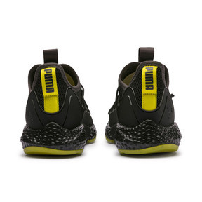Thumbnail 3 of HYBRID Rocket Runner Men's Running Shoes, Asphalt-Black-Blazing Yellow, medium