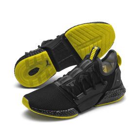 Thumbnail 2 of HYBRID Rocket Runner Men's Running Shoes, Asphalt-Black-Blazing Yellow, medium