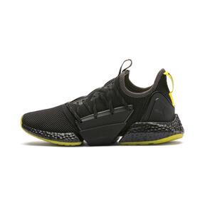 Thumbnail 1 of HYBRID Rocket Runner Men's Running Shoes, Asphalt-Black-Blazing Yellow, medium
