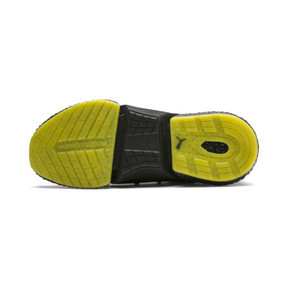 Thumbnail 4 of HYBRID Rocket Runner Men's Running Shoes, Asphalt-Black-Blazing Yellow, medium