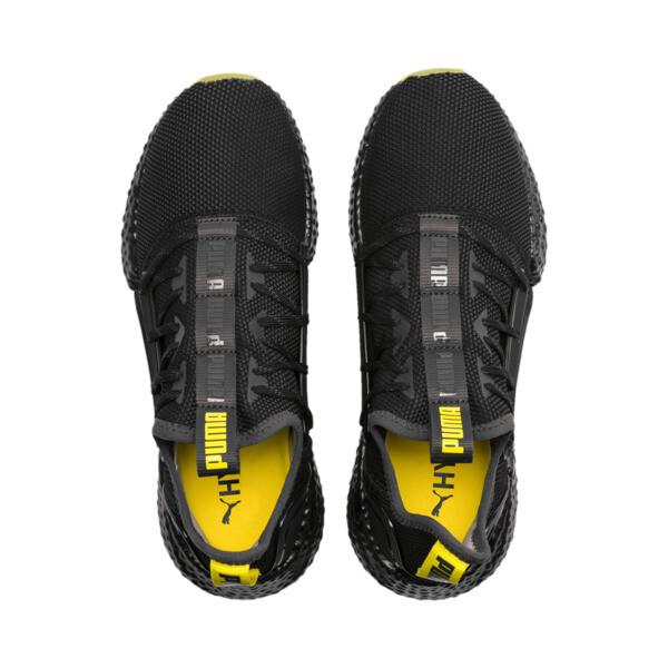 HYBRID Rocket Runner Men's Running Shoes, Asphalt-Black-Blazing Yellow, large
