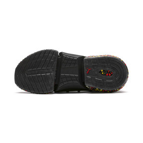 Thumbnail 5 of HYBRID Rocket Runner Men's Running Shoes, Black-Blazing Yellow-Red, medium