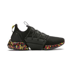 Thumbnail 6 of HYBRID Rocket Runner Men's Running Shoes, Black-Blazing Yellow-Red, medium