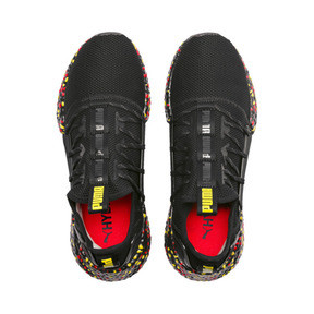 Thumbnail 6 of Hybrid Rocket Runner Men's Running Shoes, Black-Blazing Yellow-Red, medium