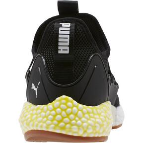 Thumbnail 4 of HYBRID Rocket Runner Men's Running Shoes, P Blk-P Wht-Blazing Ylw, medium