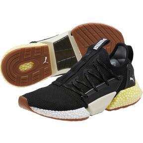 Thumbnail 2 of HYBRID Rocket Runner Men's Running Shoes, P Blk-P Wht-Blazing Ylw, medium