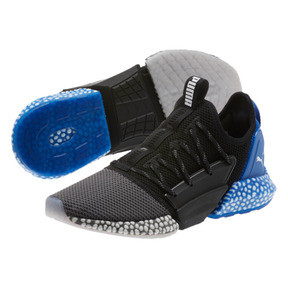 Thumbnail 1 of HYBRID Rocket Runner Men's Running Shoes, QUIETSHDE-PumaBlck-StrngBlue, medium