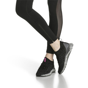 Thumbnail 7 of HYBRID Runner FUSEFIT Women's Running Shoes, Puma Black-Orchid-KOUT PINK, medium