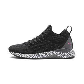 Thumbnail 1 of HYBRID Runner FUSEFIT Women's Running Shoes, Puma Black-Orchid-KOUT PINK, medium