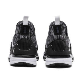 Thumbnail 4 of Ignite Limitless 2 evoKNIT Block Trainers, Puma Black-Puma White, medium