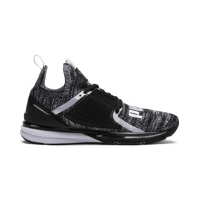 Thumbnail 5 of Ignite Limitless 2 evoKNIT Block Trainers, Puma Black-Puma White, medium