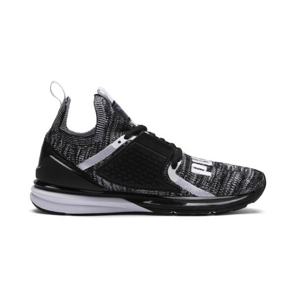 Limitless 2 evoKNIT Block Running Shoes, Puma Black-Puma White, large