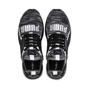 Thumbnail 6 of Ignite Limitless 2 evoKNIT Block Trainers, Puma Black-Puma White, medium