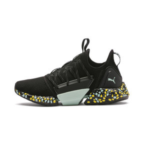 Thumbnail 1 of Hybrid Rocket Runner Damen Laufschuhe, Black-Fair Aqua-Yellow, medium