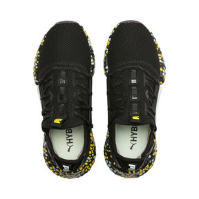 Thumbnail 7 of Hybrid Rocket Runner Damen Laufschuhe, Black-Fair Aqua-Yellow, medium