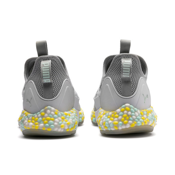Hybrid Rocket Women's Running Shoes, Quarry-Puma White-Fair Aqua, large
