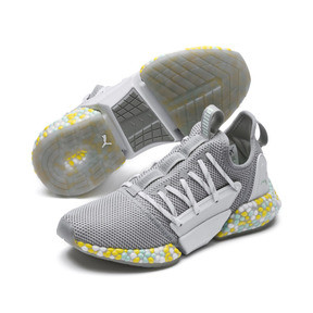 Thumbnail 2 of Chaussure de course Hybrid Rocket Runner pour femme, Quarry-Puma White-Fair Aqua, medium