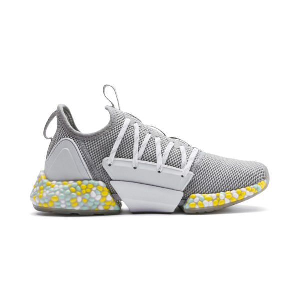 Zapatillas de running de mujer Hybrid Rocket, Quarry-Puma White-Fair Aqua, grande