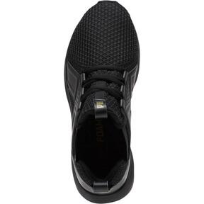 Thumbnail 5 of Enzo Varsity Women's Sneakers, Puma Black-Puma Team Gold, medium